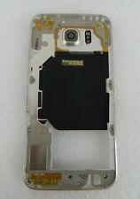 GENUINE SAMSUNG GALAXY  S6 G920F MIDDLE COVER FRAME GH96-08583C GOLD (B2)