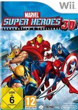 NINTENDO Wii +Wii U MARVEL SUPER HEROES 3D Grandmaster * (ohne Maske) NEU
