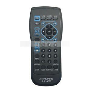 ALPINE RUE-4203 Remote Control For IVA-W200 IVA-W203 IVA-D310 INA-W900 INA-W910