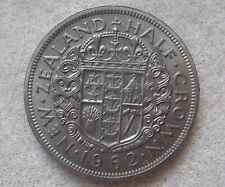 New Zealand 1962 Half-crown or Two Shillings & Sixpence  KM29.2