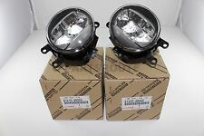 Toyota Lexus Genuine OEM Fog Lights Lamps Set Pair Right Left 81220 81210-48051