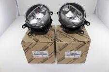 Toyota Lexus Genuine OEM Fog Lights Lamps Set Pair Right Left 81220 81210-48051