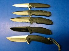 Lot of 5 Kershaw Folding Pocket Knives 3840 1990 1835 1987 1310 Knife g29