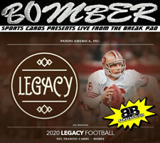 New England Patriots 2020 Panini Legacy Football 6 Box 1/2 Case Break 2