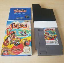 NINTENDO NES BOXED CIB COMPLETE - TALESPIN ( NES-68-FRA ) Disney Super Baloo