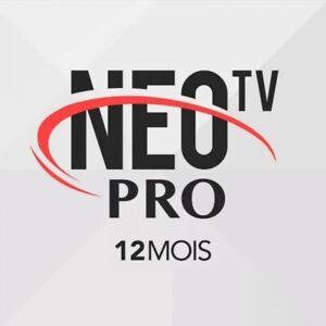 NEO TV PRO 2 OFFICEL CODE 12 MOIS⭐STABLE⭐✅ENVOIE TRÈS RAPIDE