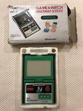 Nintendo Game & Watch Panorama Popeye , Complete w/Box & Foam *Works Perfectly*