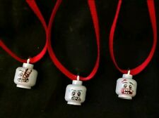 The Walking Dead Zombie Head Christmas Ornament set