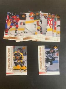 2000/01 Upper Deck Montreal Canadiens Team Set 13 Cards YG Michael Ryder RC