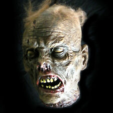 Lifesize Rotting Cut Off Zombie Head Haloween Party Haunted House Prop 10""