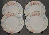 Set (4) MIKASA Bone China MATISSE PATTERN Dinner Plates MADE IN JAPAN