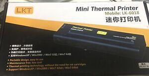Mini Thermal Printer Mobil Lk-6018