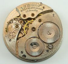 Waltham Pocket Watch Movement - Grade 225 - Spare Parts / Repair