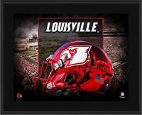 Louisville Cardinals 10.5x13 2015 Red Chrome Alternate Helmet Sublimated Plaque