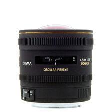 NEW Sigma 4.5mm F2.8 EX DC HSM Circular Fisheye Lens For Nikon w/1 Yr Warranty