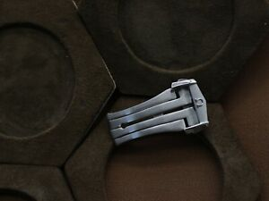 Brushed Omega Deployment Clasp 20 mm - Omega Buckle 20 mm - Omega Clasp 20 mm