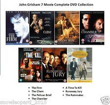 JOHN GRISHAM 7 MOVIE COLLECTION DVD SET FILMS BASED ON NOVELS Sealed UK Release