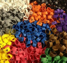 International Colour Coded Cable Markers Heat Shrink Size 6.4/3.2mm 0-9 Colours