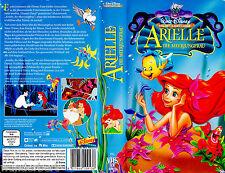 """VHS - """" Disney - ARIELLE die Meerjungfrau """" (1989) ( neue Synchro )"""