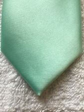 BRAND Q MENS TIE SMOOTH TEAL MODEL NUMBER 3000-QQ 62x2.25""