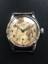 WW2 ORIGINAL MILITARY GERMAN WATCH KRIEGSMARINE KM 592 ALPINA WEHRMACHT SERVICED