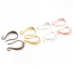 French Style Earring Hooks Blanks Clasps Jewellery Makings Findings Fittings UK