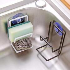 Spülorganizer Küche Regal Saugnapf Handtuchhalter Schwammhalter Schwammablage
