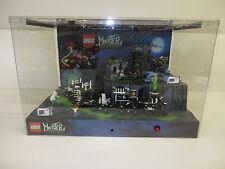 Monster Fighters 9467 + 9466 vitrine diorama Boutique Display Vitrine Showcase