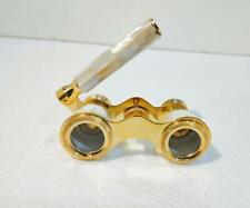 Lot Of 10 Pcs. Vintage Brass Nautical Mother Pearl Binocular Pirates Collection