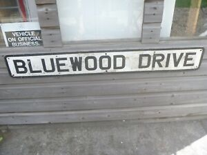 Vintage Metal Street Sign...Great Display Shop,Bar,Man Cave