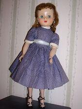 Vintage 1950's Madame Alexander Elise Auburn, Redhead in Tagged Dress,Shoes,etc