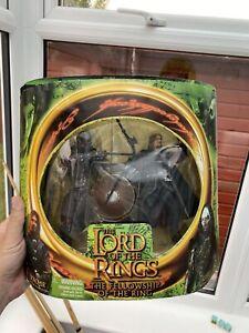 Lord of The Rings Lurtz & Boromir Double Pack Figures LOTR Toybiz