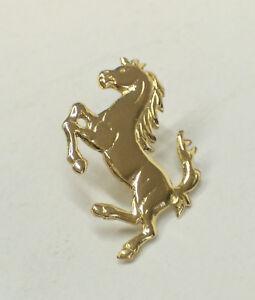 Cavallino Rampante: Spilla da giacca (pins) in Oro Giallo 750 millesimi - 18 Kt