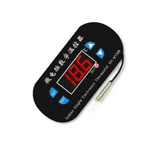Digital LED Heat Cool Thermostat Temperature Controller Sensor Hottest DC 12V U8