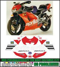 kit adesivi stickers compatibili rs 125 1995 replica reggiani