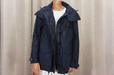 BURBERRY BRIT ANORAK WINDBREAKER NAVY BLUE PARKA COAT JACKET 8 $865