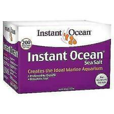 New listing Instant Ocean 35001402 200gal. Sea Salt for Marine Aquariums