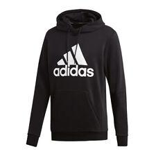 Adidas MH Badge Of Sport Sudadera con Capucha Negro