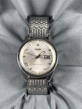 Vtg Seiko Sportsmatic Automatic Watch Diashock 21 Jewels Calendar