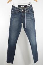 GUESS Womens Medium-Wash Max 4 WAY Stretch Low-Rise Skinny Jeans 26 NEW