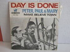 PETER PAUL AND MARY Day is done WV 5124