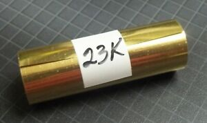 """Kingsley Hot Stamp Stamping - 23K Gold Foil Roll - 3"""" x 24"""" - Free Shipping"""