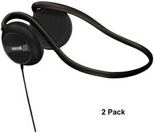 2 Pack Maxell NB-201 Behind the Neck Headphone 190316 for MP3, CD, Stereo