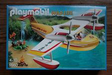 Playmobil Wild Life Hydravion de sauvetage 5560 avion flotte + réservoir d'eau
