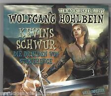 WOLFGANG HOHLBEIN - KEVINS SCHWUR - TEIL 1: DIE DRUIDEN VON STONEHENGE 2 CD NEU