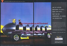 Kenwood Car Hi-Fi 1994 Magazine Advert #1942