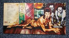DAVID BOWIE - DIAMOND DOGS - RARE 1974 UK RCA A1Oly/B7 EARLY PRESSING GATEFOLD