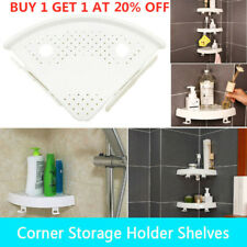 Corner Storage Holder Shelves —Bathroom Punch-free Corner Snap Up Shelf ACE