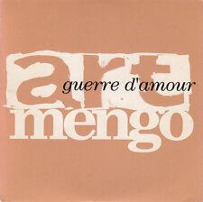 Art Mengo CD Sampler Guerre D'Amour - Promo - France