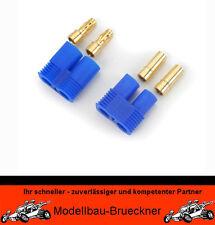 EC3 Stecker + Buchse 3,5 mm Goldkontakt Parkzone Spektrum FG Akku Lipo e-flite